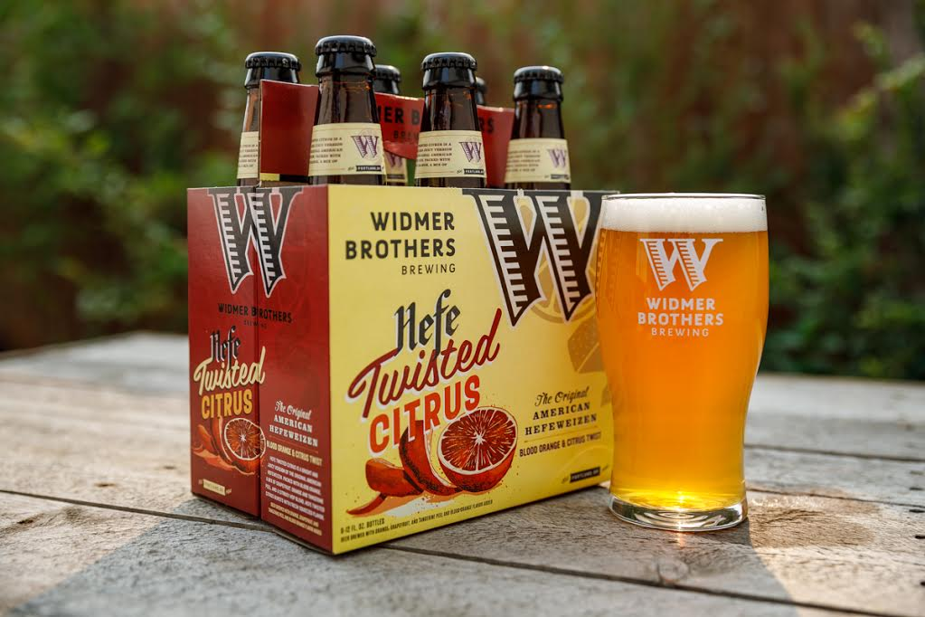 Craft Brew Alliance Launches 'twisted Citrus' Version Of Widmer Hefeweizen photo