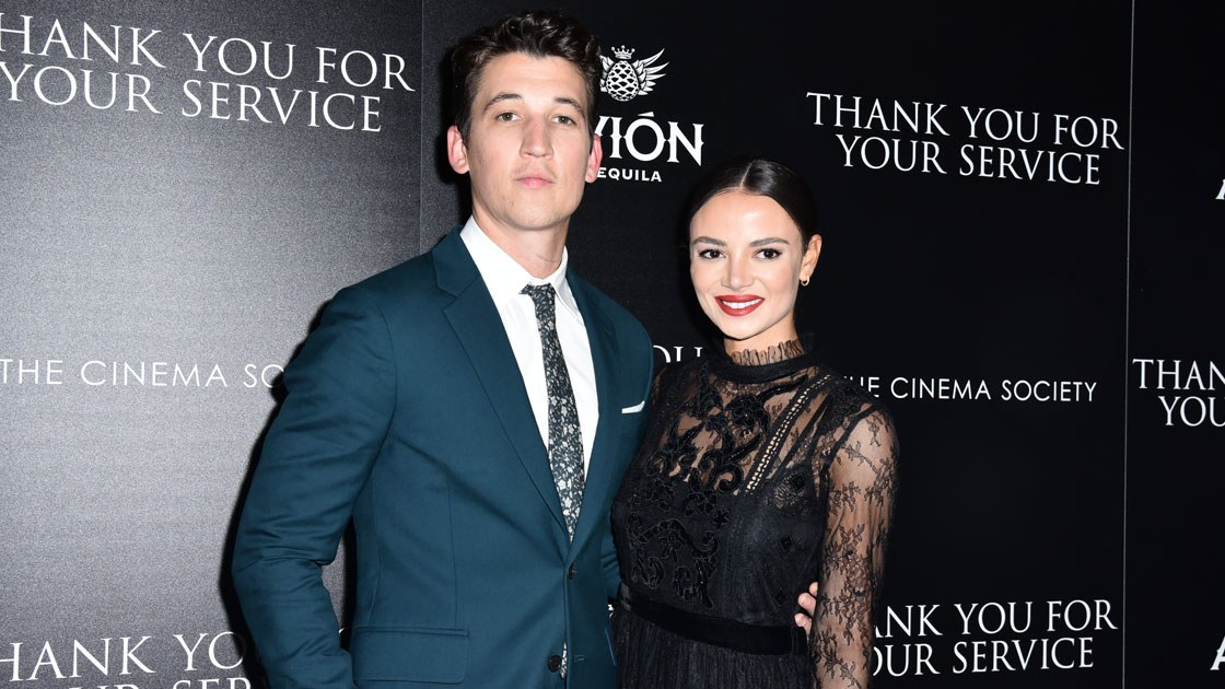 Miles Teller At The New York Screening Of Thank You For Your Service photo