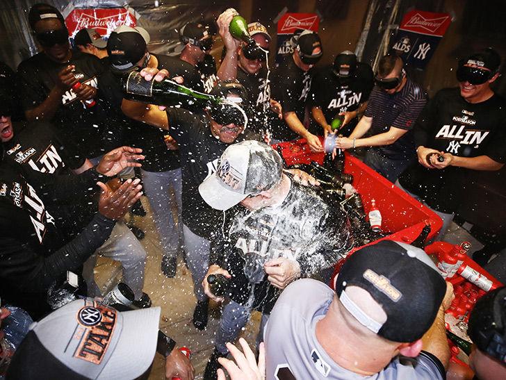 Ny Yankees: Bronx Boozin' To Celebrate Alds Win photo