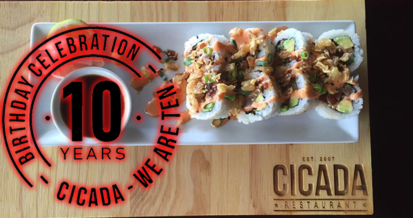 Come And Celebrate 10 Years With Cicada! photo