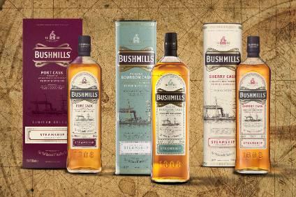 Casa Cuervo's Bushmills Bourbon #3 Char Cask Reserve Irish Whiskey photo