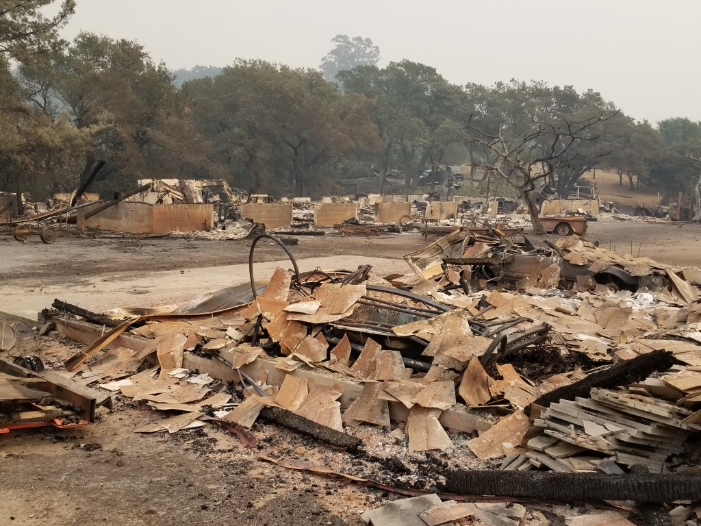 Tuesday Update: Two More Napa Wineries, One Vineyard Confirmed Destroyed By Wine Country Fires photo