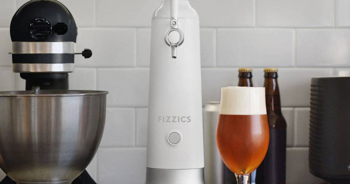 Have A Pint From This Home Beer Tap That Uses Sound Waves To Foam Up Your Drink photo