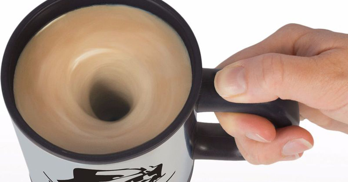 Use 'the Force' To Mix Your Coffee With This Self-stirring Mug photo