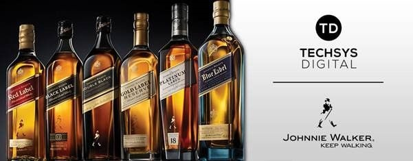 Techsys Digital Lands Johnnie Walker Business photo
