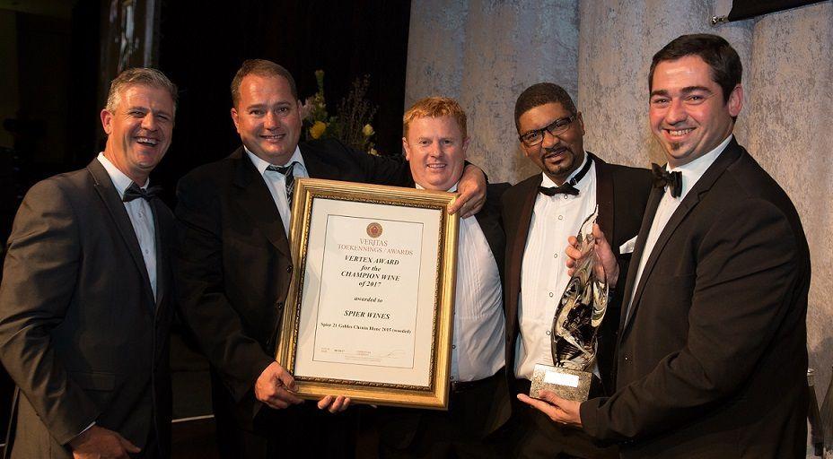 Spier Receives Overall Champion Veritas Award photo