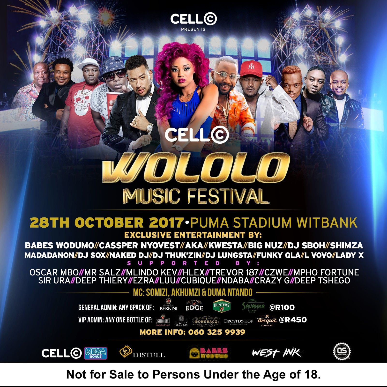 Aka And Cassper Nyovest To Headline At Wololo Music Festival photo