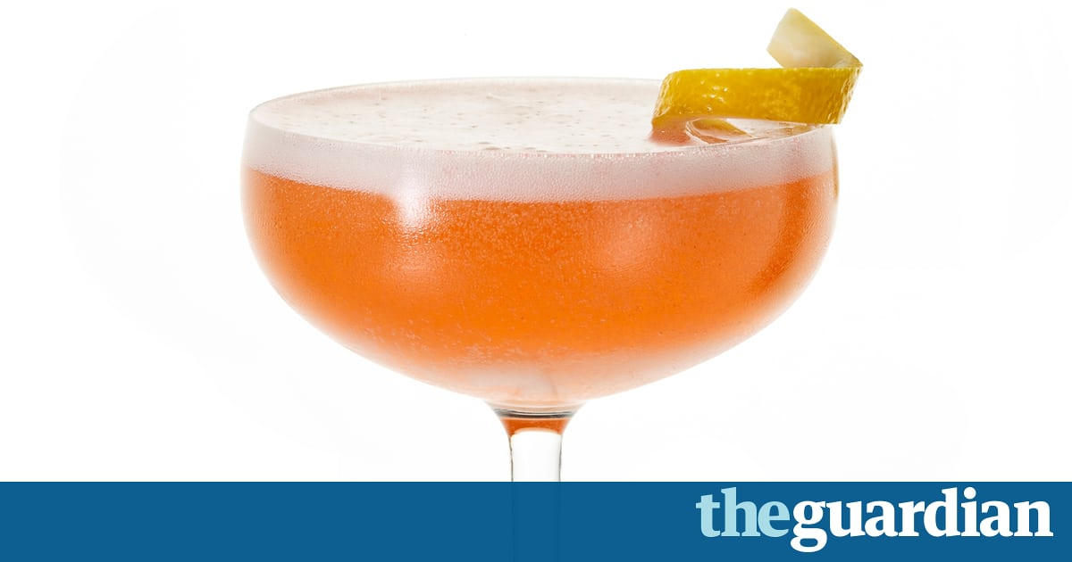 Cocktail Of The Week: Bubbly Jack Rose – Recipe photo