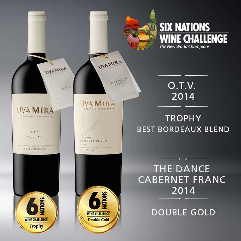 Uva Mira Mountain Vineyards shines at Six Nations Wine Challenge photo