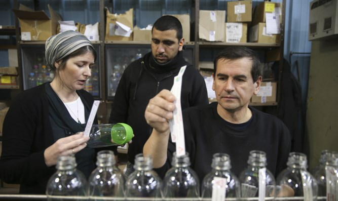 Sodastream Opens Temporary Production Line For Pa Workers photo