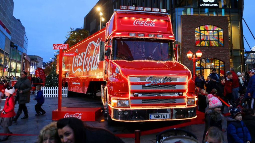 Calls To Ban Coca-cola Christmas Truck photo