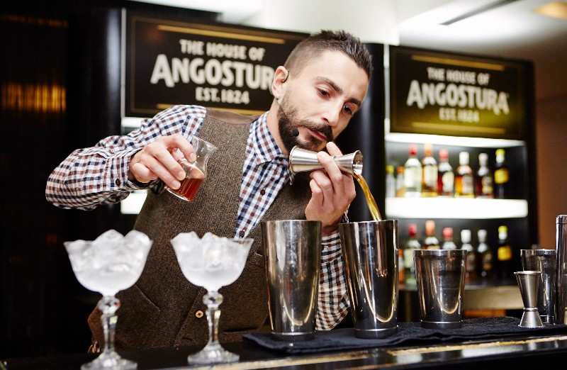 Lebanese Mixologist, John Mansour, Shakes His Way Into Angostura`s Global Cocktail Challenge Finals photo