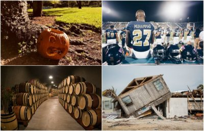October 2017 In Photos: Halloween, Irma Cleanup And Football photo