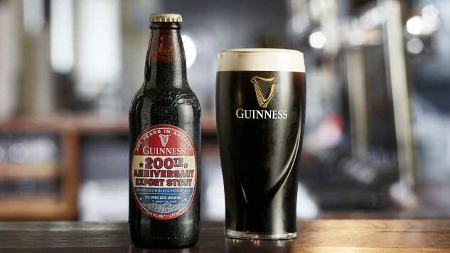 Guinness Celebrates 200 Years In America With New Anniversary Export Stout photo