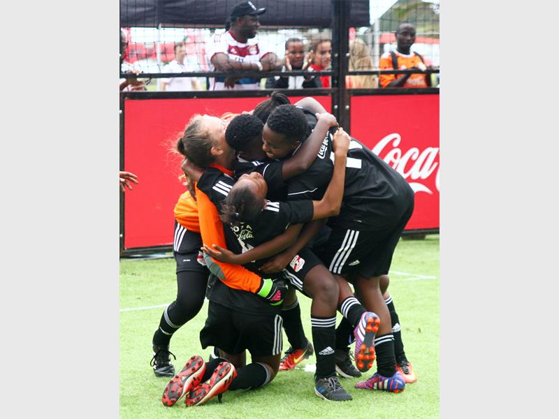 Kzn Girls Salvage Country Pride At Copa Coca-cola Global Cup Champs photo