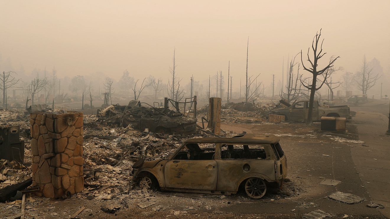 As Deaths, Damage Mount, Wine Country Wildfires May Be Worst 'in California History' photo