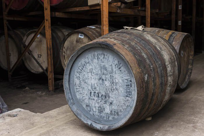 Macallan Whisky Cask Fetches Over $370,000 At Auction photo