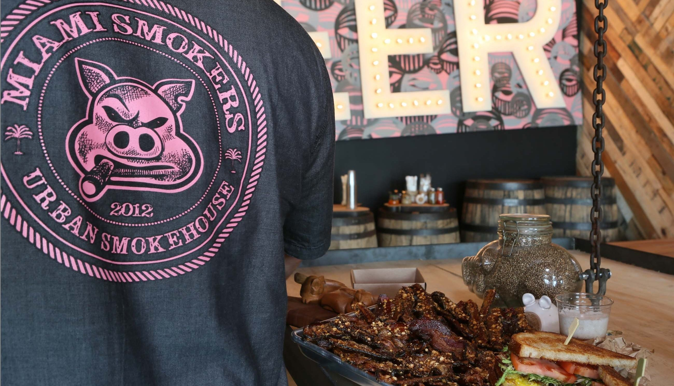 Miami Smokers Is All About Meat. So Why Are They Competing In A Vegan Cook Off? photo