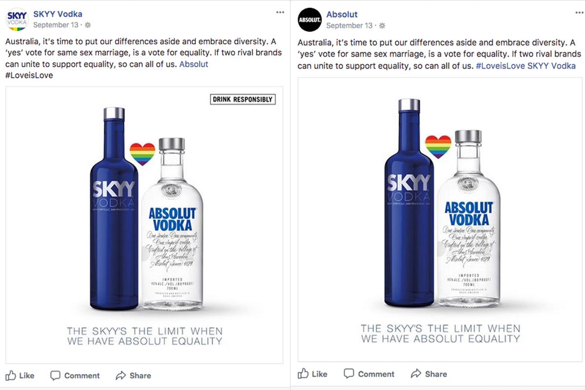 Skyy Vodka/absolut: Australia Marriage Equality photo