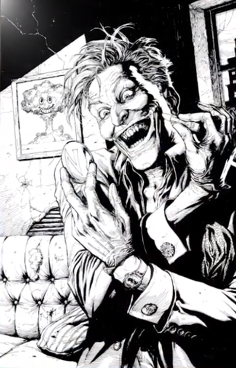 The Joker Comes To Doomsday Clock photo