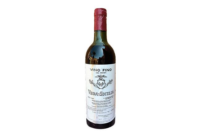 Wine Legend: Vega Sicilia, Unico 1964 photo