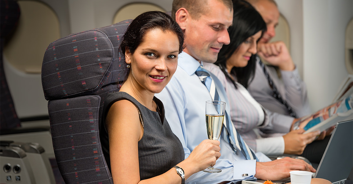 Airline Sued For Serving Sparkling Wine Instead Of Champagne photo