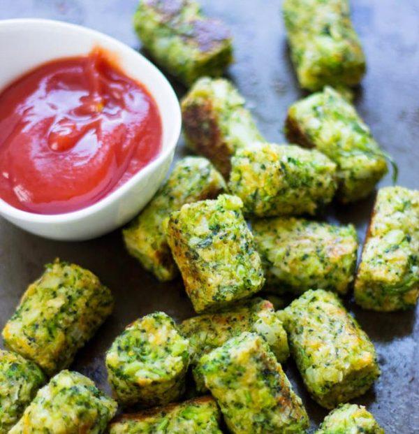 Healthy Baked Broccoli Tots photo