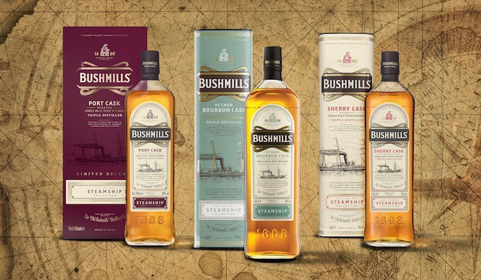 Bushmills Irish Whiskey Adds New Expression To Steamship Collection photo