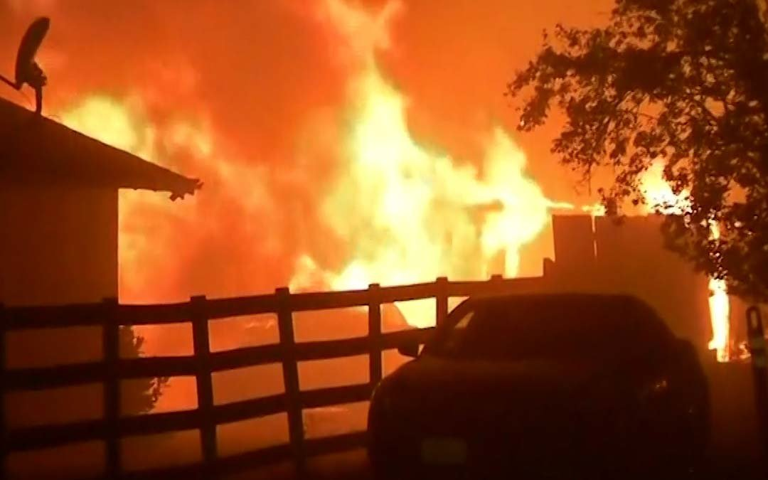25,000 People Have Been Evacuated Due To The Fires Ravaging California's Wine Country photo