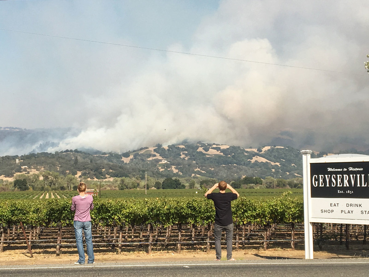Why The Wineries Affected By The Wildfires In Napa Will Be Fine photo
