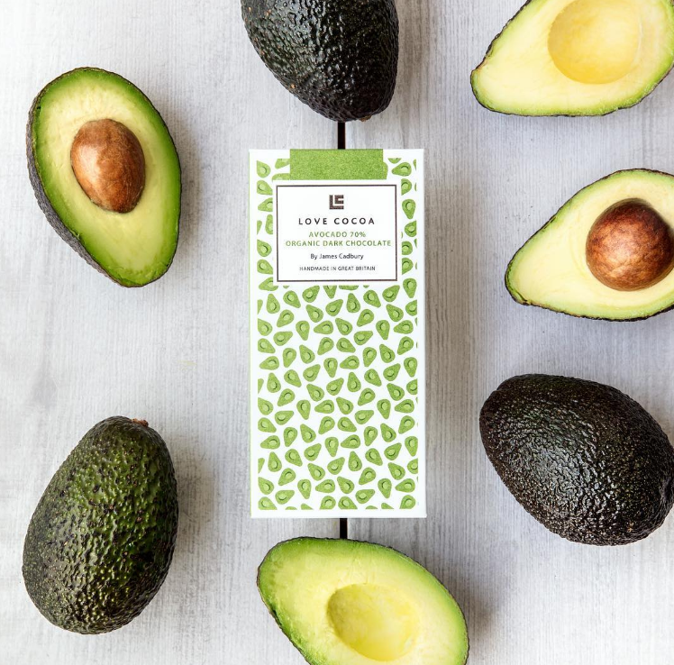Britain's First Vegan Avocado Chocolate Bar Is Finally Here photo