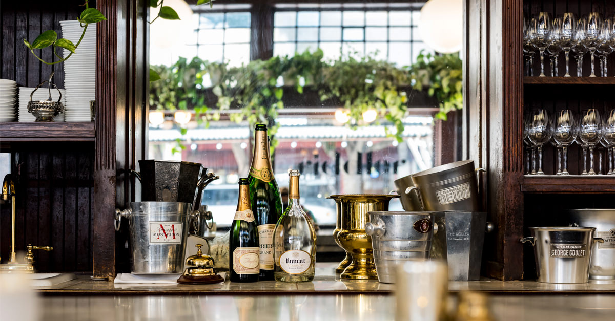 Are We Trying Too Hard To Make Champagne Bars Happen? photo