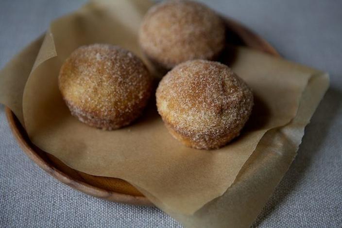 Cinnamon Sugar Breakfast Puffs photo