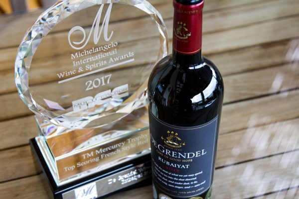 De Grendel brings home two big wins at the Michelangelo International Wine and Spirits Awards 2017 photo