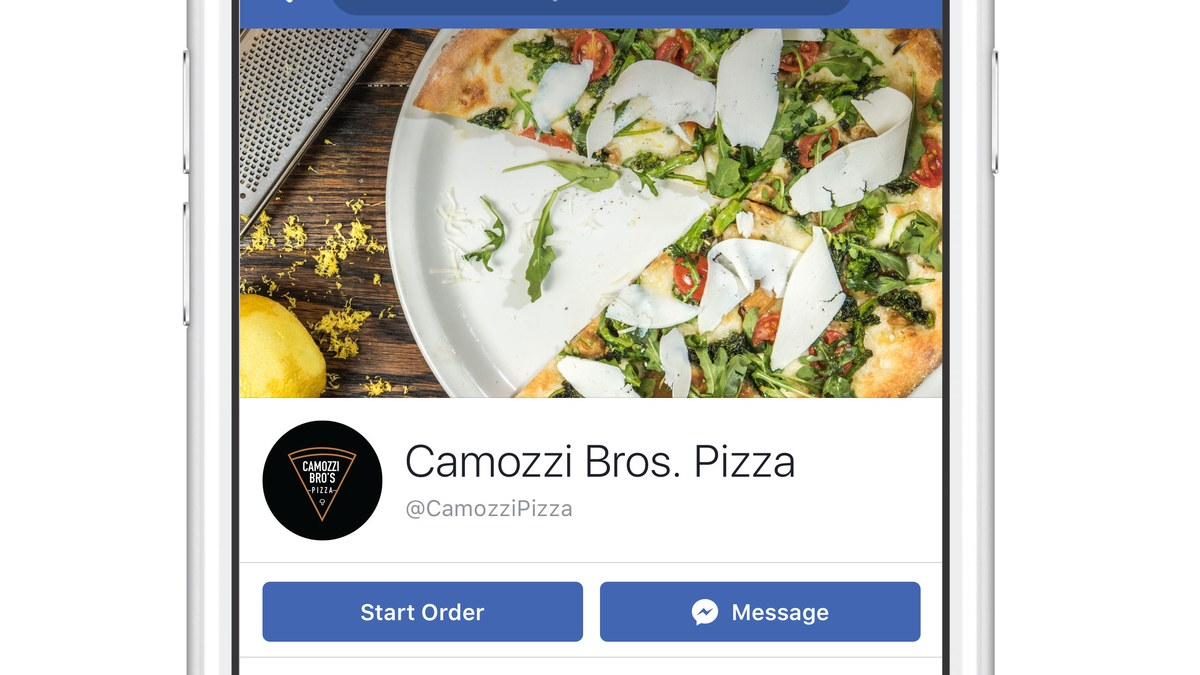 You Can Now Order Food On Facebook photo