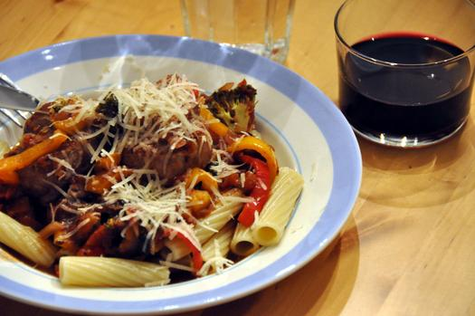 How To Perfectly Pair Wine And Pasta #worldpastaday photo