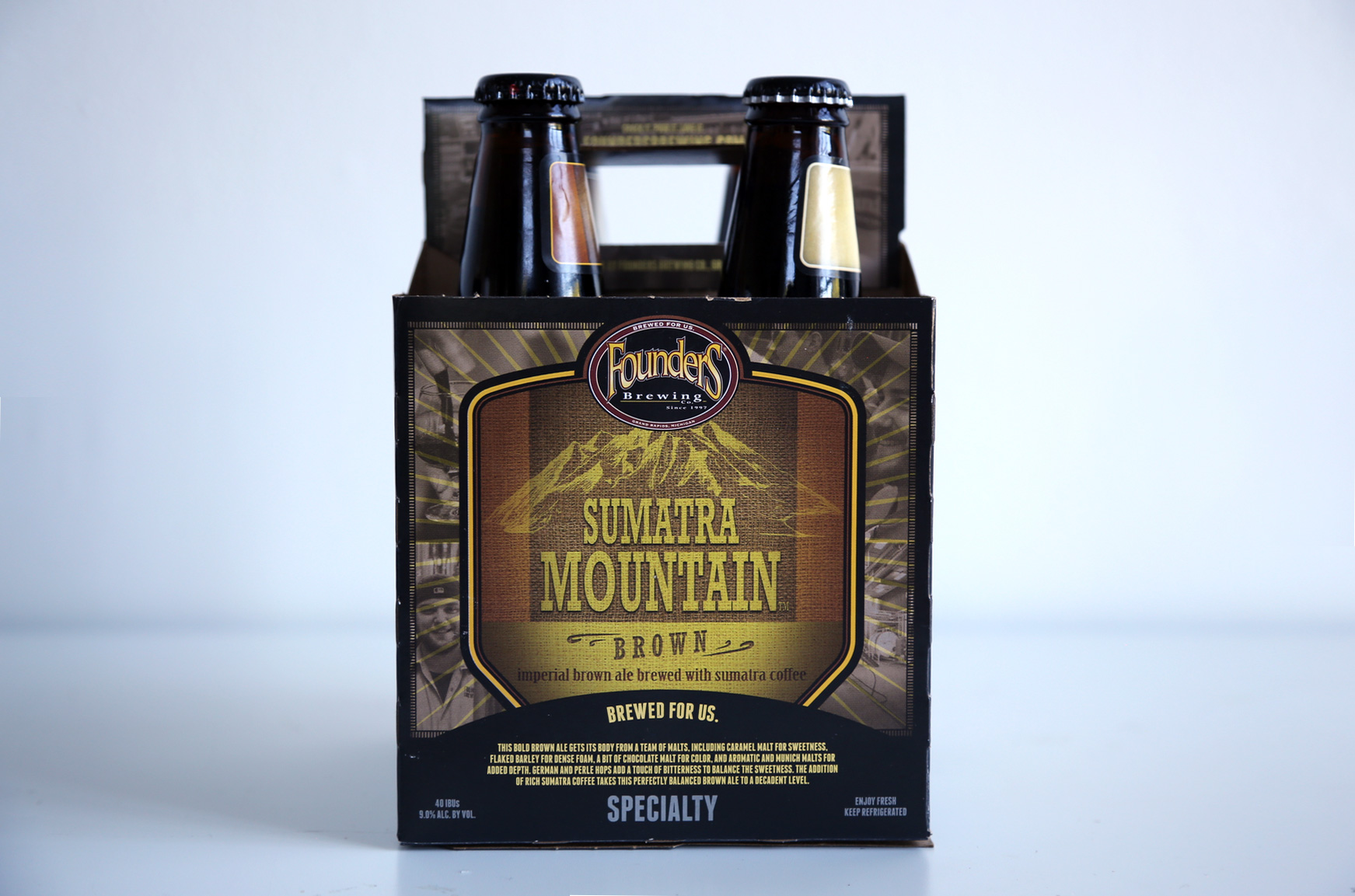 Coffee Beer: Sumatra Mountain Brown By Founders Brewing Co. photo