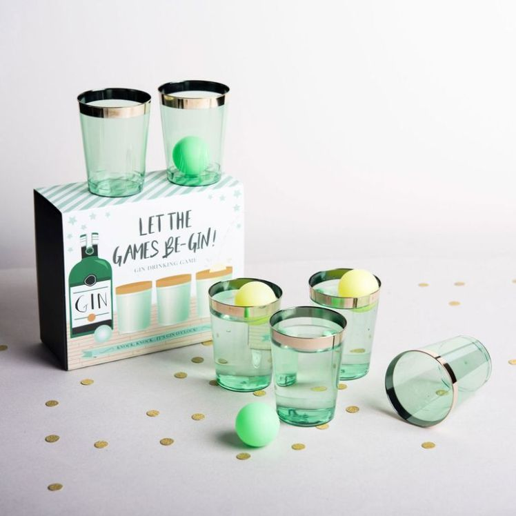 Gin Pong offers a classier alternative to Beer Pong photo