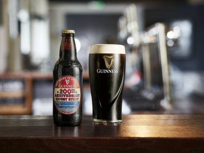 Guinness To Release 200th Anniversary Export Stout photo