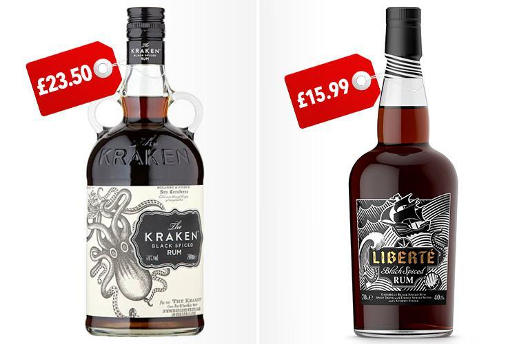 Lidl's New Spiced Rum Looks Just Like Kraken's photo