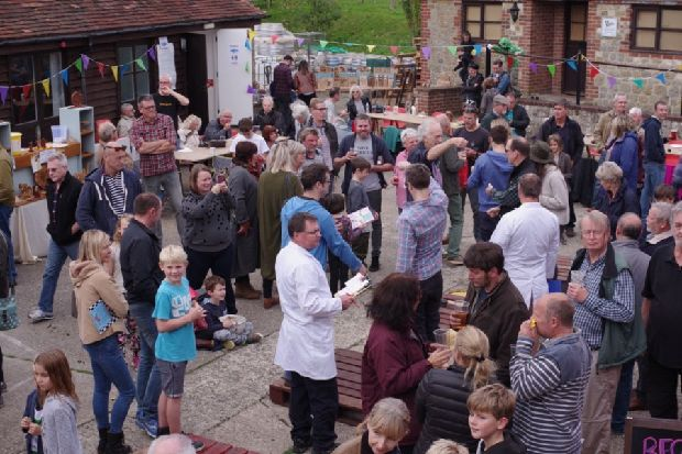 They Are All Bonkers For Conkers At Langham Brewery photo