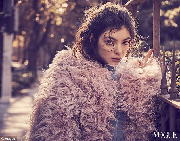 The cure for a broken heart? Lorde suggests lots of Tequila! photo