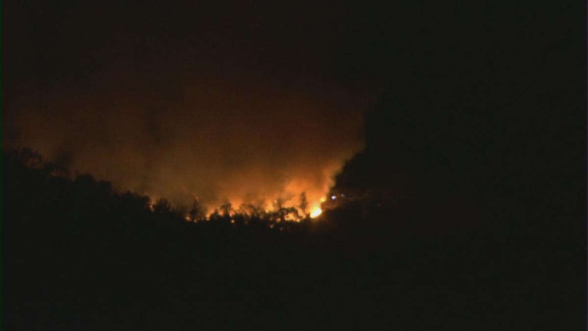 Video: Flames Rage Near Napa?s Robert Mondavi Winery photo