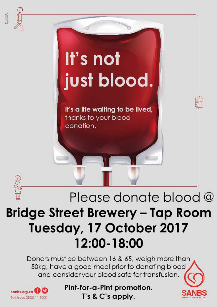 Pint For A Pint Blood Drive At Bridge Street Brewery photo