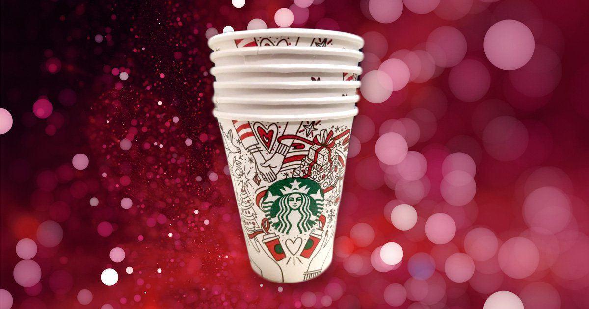 Someone's Leaked The Design Of This Year's Starbucks Festive Cups photo