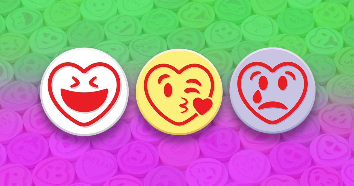 Love Hearts Are Getting An Emoji Themed Makeover photo