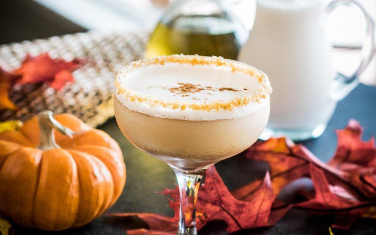 Pumpkin Spice Martini [vegan, Grain-free] photo