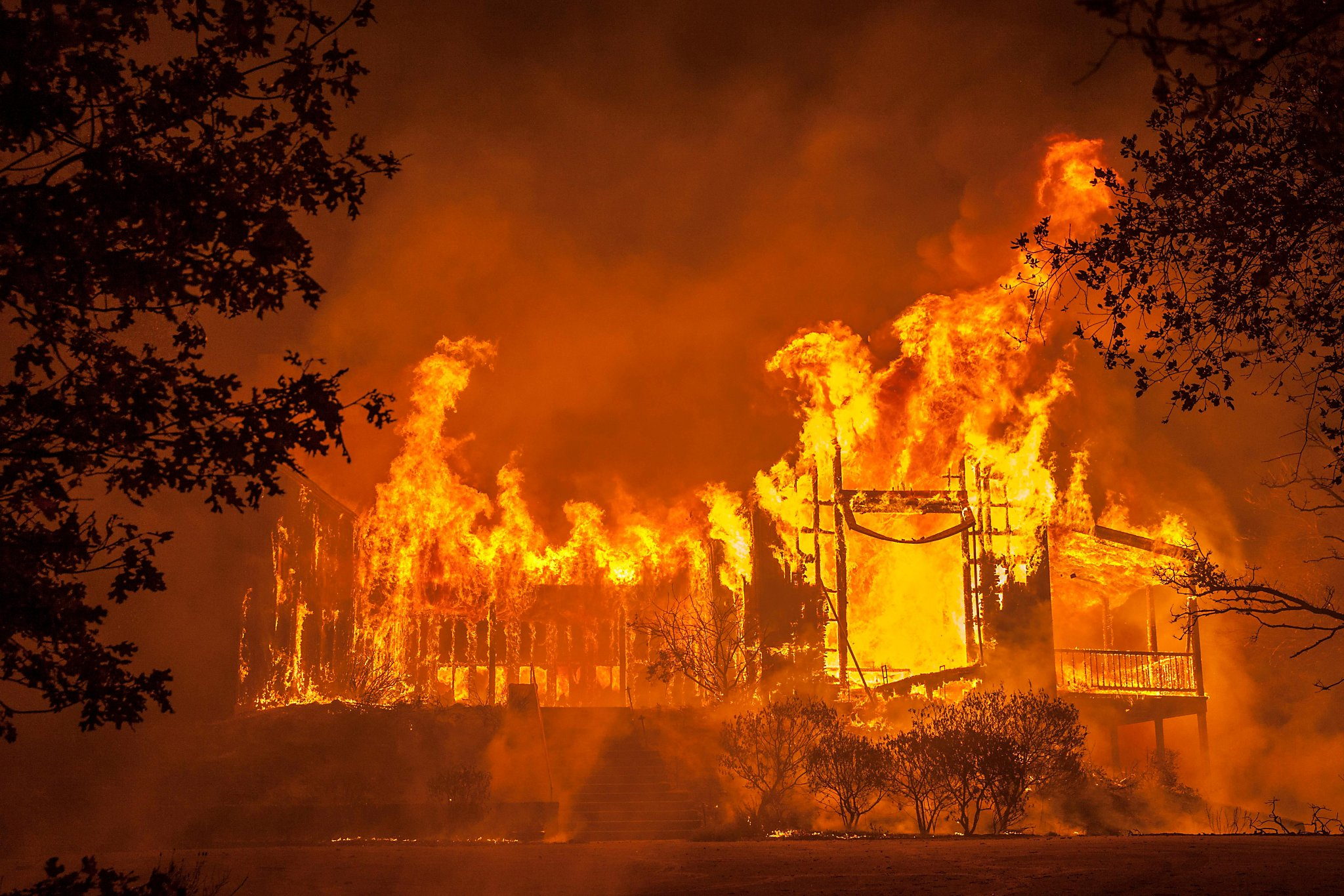 Hope In Wine Country As Vineyards Assess The Long-term Economic Impact Of The Wildfires photo