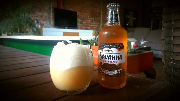 How to make a Rum and Raisin Float with Savanna Cider photo