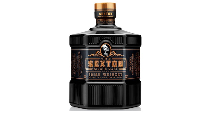 Sexton Irish Whiskey Arrives In Us In Some Cool Black Bottles photo